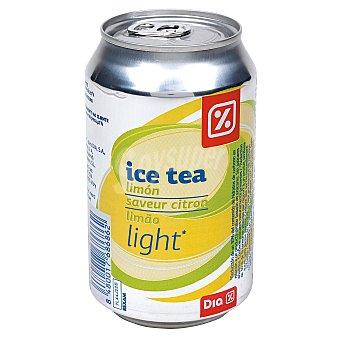 DIA Refresco de te al limón ligth Lata 33 cl