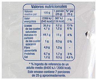 Auchan Patatas fritas onduladas 170 gramos