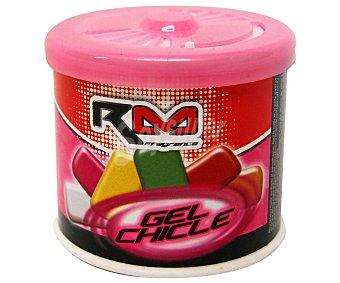 ROLMOVIL Ambientador en gel para coche, en envase de lata con dosificador y con olor a chicle 1 unidad