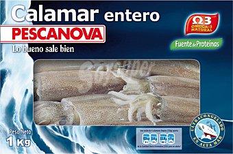 Pescanova Calamar entero Caja 1 kg