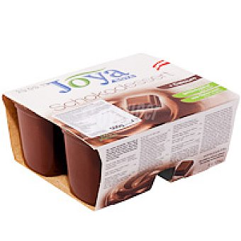 Joya Postre de soja-chocolate Pack 4x125 g