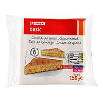 Eroski Basic Queso fundido Sobre 150 g