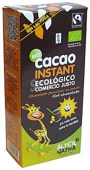Alternativa 3 Cacao instantáneo ecológico sin lactosa y sin gluten Estuche 250 g