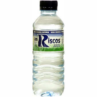 Los Riscos Agua mineral natural Botellín 33 cl