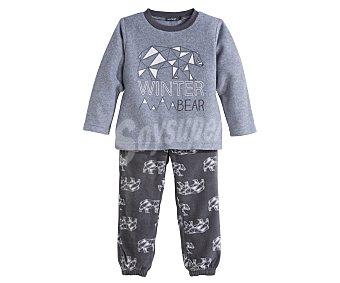 In Extenso Pijama polar largo de niño talla 10
