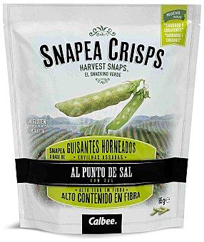 Calbee Guisantes horneados al punto de sal Snapea Crips 85 g