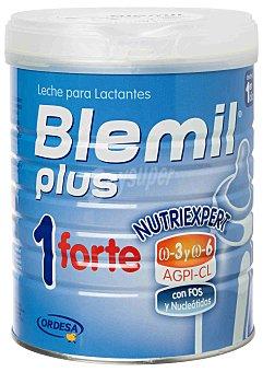 Blemil plus Leche para lactantes 1 Forte, desde el primer día hasta el sexto mes Bote 800 g
