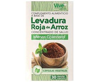 Vive+ Complemento alimenticio a base de levadura roja de arroz 30 uds
