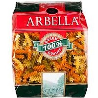 Pasta Hélices Tricolor paquete 500 gr