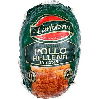La Carloteña Pollo relleno al horno Al peso (100g)