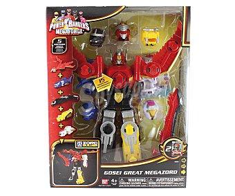 BANDAI Une los 5 Zords de tus Powers Rangers y Crea el Robot de Combate Definitivo 1 Unidad