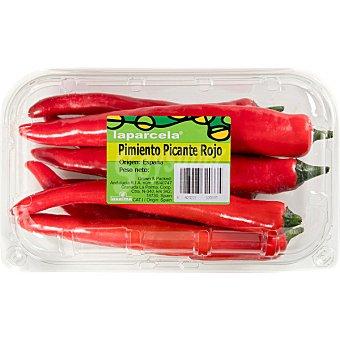 La parcela Pimiento rojo picante Bandeja 200 g