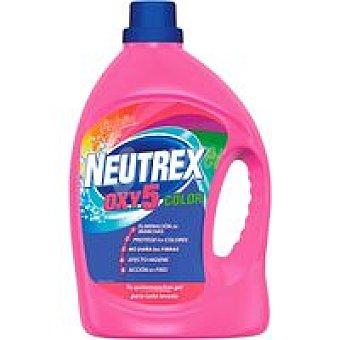 Neutrex Quitamanchas color Oxy5 Garrafa 2,6 litros