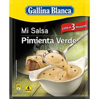 Gallina Blanca Sartén de ternera con pimienta verde Sobre 50 g
