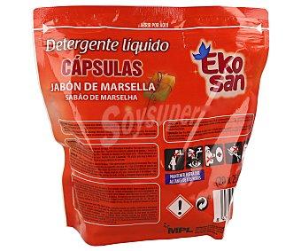 EKOSAN Detergente Líquido en Cápsulas 20 Dosis