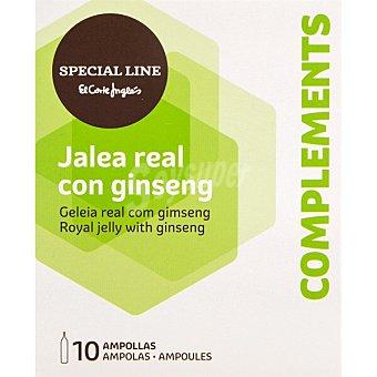 Special Line jalea real con ginseng 10 ampollas  estuche 100 ml