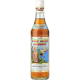 Indias Ron miel botella 70 cl