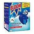 Insecticida eléctrico volador pastilla 1aparato + 10 pastillas Bloom