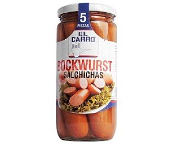 El Carro Salchichas Bockwurst Frasco 5 Unidades