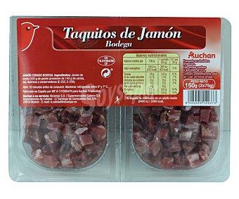 Auchan Taquitos de jamón curado 100 gramos
