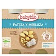 Tarrito de patata y merluza eco Pack 2 tarros x 200 g BabyBio