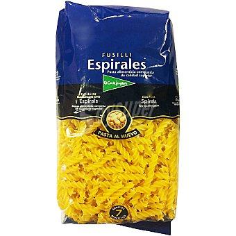 EL CORTE INGLES espirales al huevo paquete 500 g