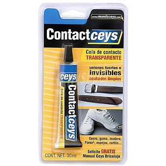 Ceys Cola de contacto transparente tubo 30 ml Tubo 30 ml