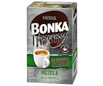 Bonka Nestlé Café espresso natural y torrefacto, cremoso y equilibrado 250 gramos