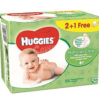 Huggies Natural Care Toallitas 168 UNI