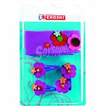 Eroski Conjunto capilar Pack 1 unid
