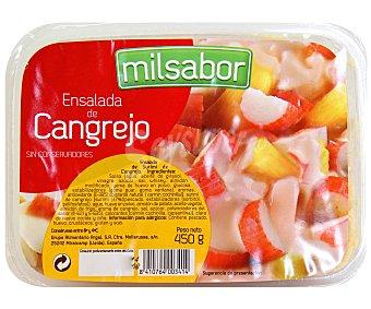 Milsabor Argal Ensalada de cangrejo 450 Gramos
