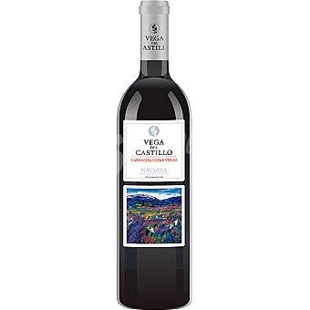 VEGA DEL CASTILLO Vino tinto garnacha cepas viejas semicrianza D.O. Navarra botella 75 cl