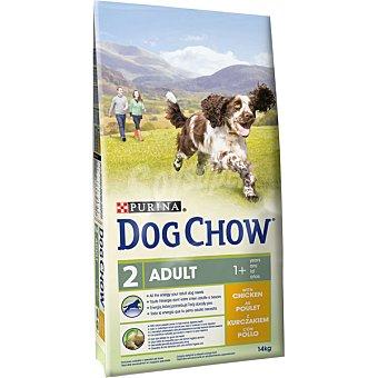 Alimento completo para perro con pollo ,5 kg gratis Envase 14 kg + 2
