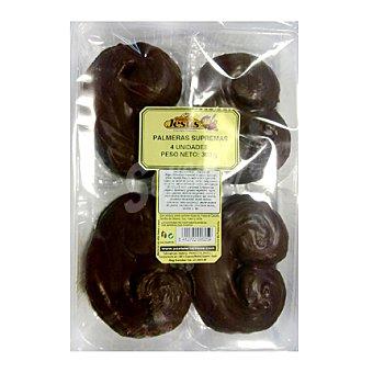 Jesús Palmeras de chocolate 4 ud