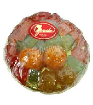 Garrido Cesta de mini frutas confitadas (mandarina, pera, ciruela y calabaza) Tarrina de 300 g