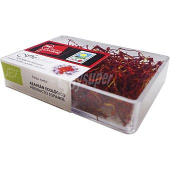FRISAFRAN Azafrán ecológico de Navarra caja 1 g caja 1 g