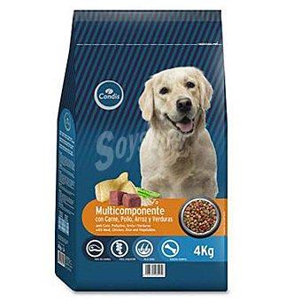 Condis Comida perro carne, pollo, arroz y verdura 4 KG