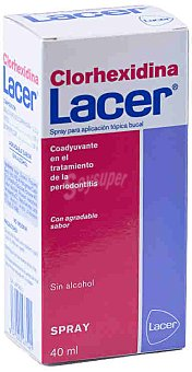 Lacer Clorhexidina en spray Spray 40 ml