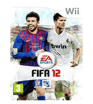 Electronic Arts Juego wii fifa 12 electronics arts