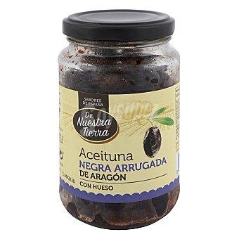 De Nuestra Tierra Aceituna negra arrugada de Aragón con hueso 220 G 225 g