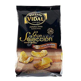 Vicente Vidal Patatas fritas crujientes gran selección Envase 165 g