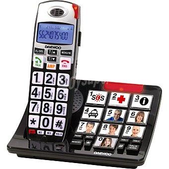 Daewoo Inalámbrico Senior DTD-7500 Teléfono