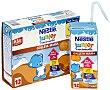 Crecimiento leche infantil con galletas Maria desde 12 meses Paquete 3 x 200 ml  Junior Nestlé