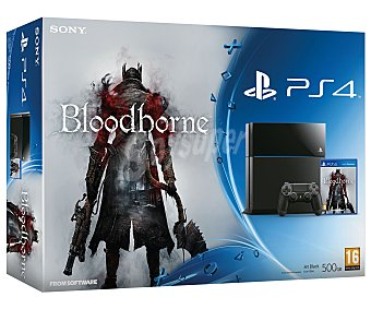 Sony Ps4 500Gb + Bloodborne 1 unidad