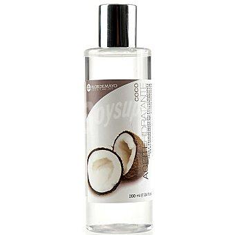 Flor de Mayo Aceite corporal hidratante Coco equilibrante Frasco 200 ml