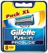 Recambios Gillette Fusion Proglide Manual 8 ud Gillette