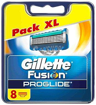 Gillette Recambios Gillette Fusion Proglide Manual 8 ud