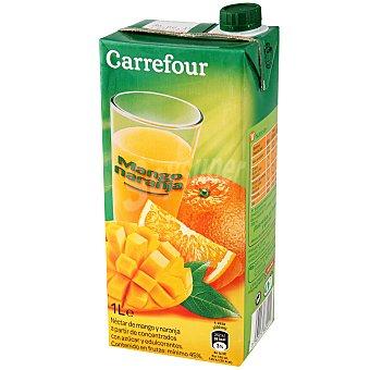 Carrefour Néctar de mango y naranja 1 l