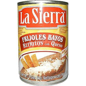 LA SIERRA Frijoles refritos con queso Lata 430 g