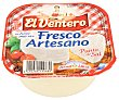 Queso fresco artesano al punto de sal Tarrina 250 g El Ventero